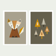 _Fox in The Woods, Series of two