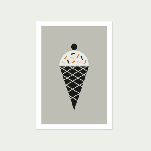 Icecream Nursery Art print