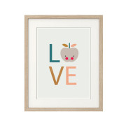 Love-Apple (Light-Background)-Nursery art print