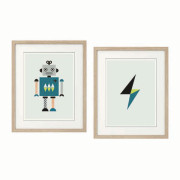 Robot-Series-of Two in Frames